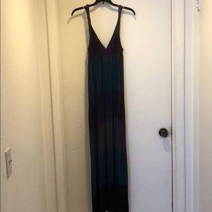 Maxi ombré dress